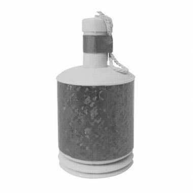 72x party popper confetti in zilveren kleur
