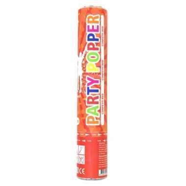 Confetti kanon rood 28 cm