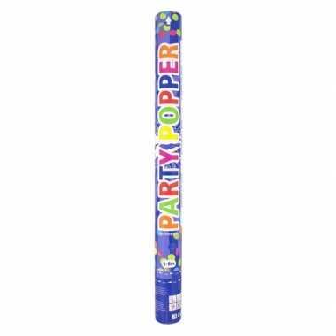 Confetti party kanon gekleurd 57 cm