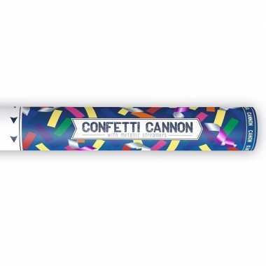 Confetti shooters metallic kleuren mix 40 cm