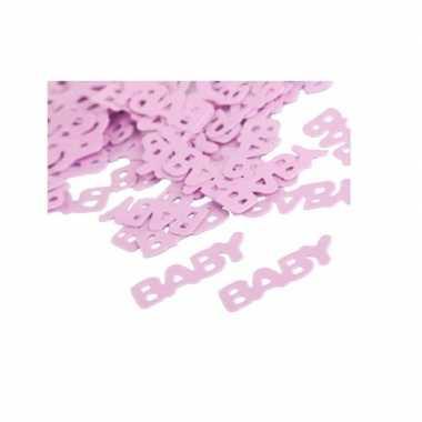 Geboorte meisje baby confetti