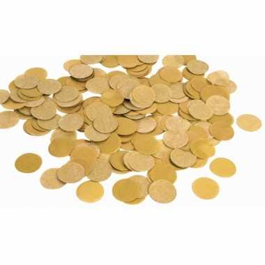 Gouden papieren confetti 225 gram