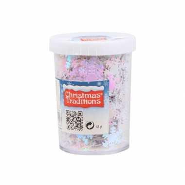 Hobby sneeuwvlokken confetti