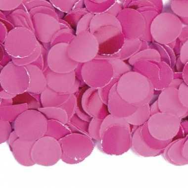 Strooi confetti fuchsia roze 1 kg