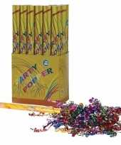 3x confetti shooters multi color 50 cm