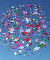 Gekleurde confetti snippers sterren 10125905