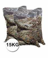 Grote verpakking confetti snippers ca 15 kilo