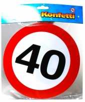 Xxl confetti 40 jaar